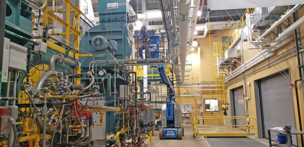 Industrial Watertube Installation