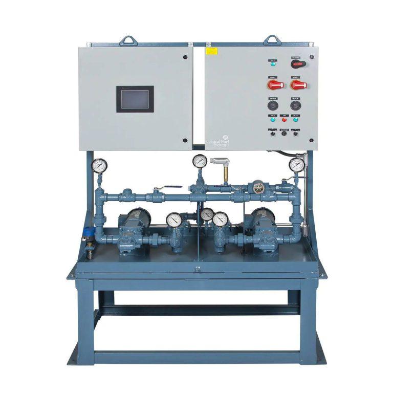Pump set control panel