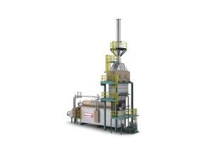 MaxFire industrial boiler