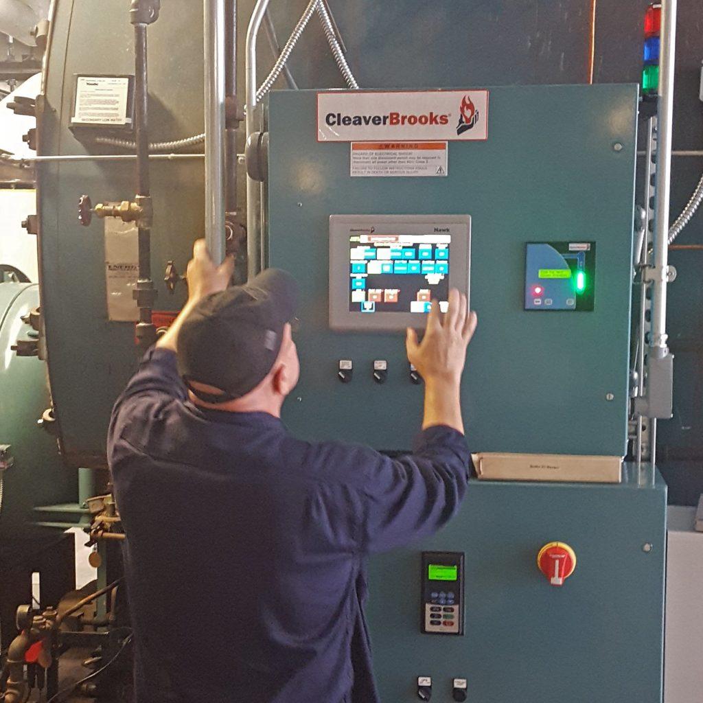 Boiler Controls Conversion
