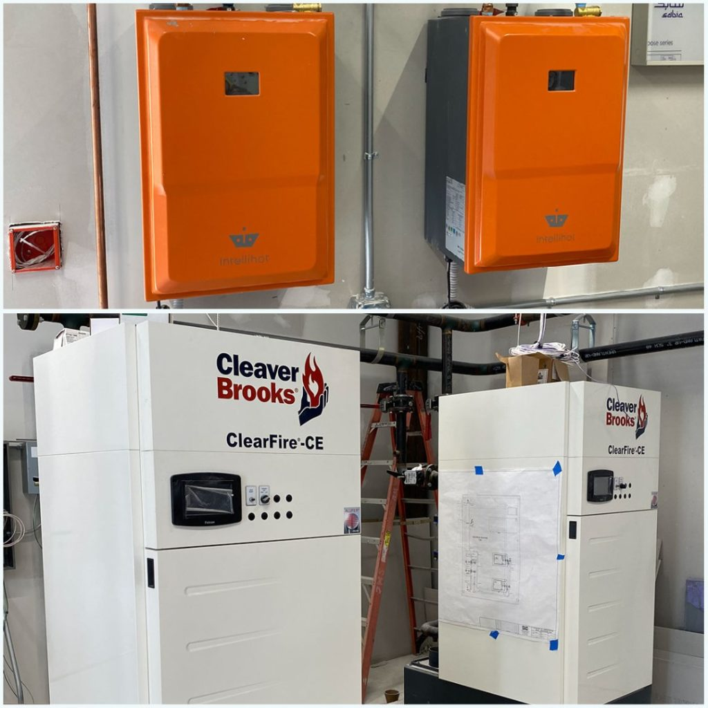 Hydronic Installation - Intellihot and Cleaver-Brooks