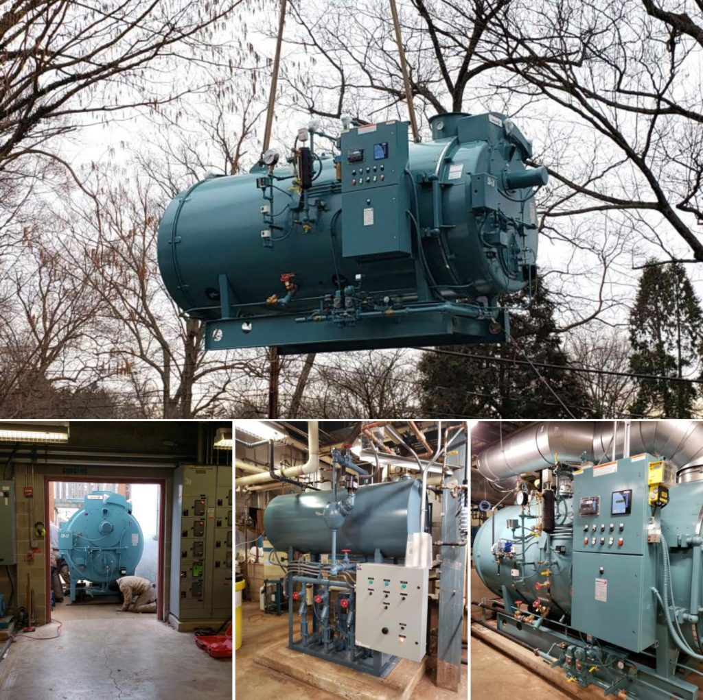Steam Boiler Replacement