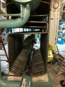 Delval Servicing Flexible Watertube Boiler
