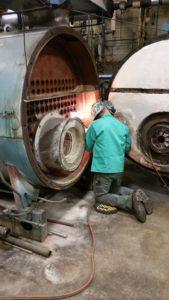 Delval Equipment Boiler Tube Repair