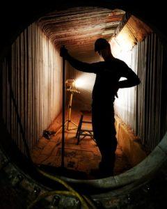 Delval Boiler Service - Confined Space