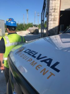 Delval Service Vehicles