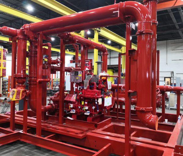 Tigerflow fire pump system