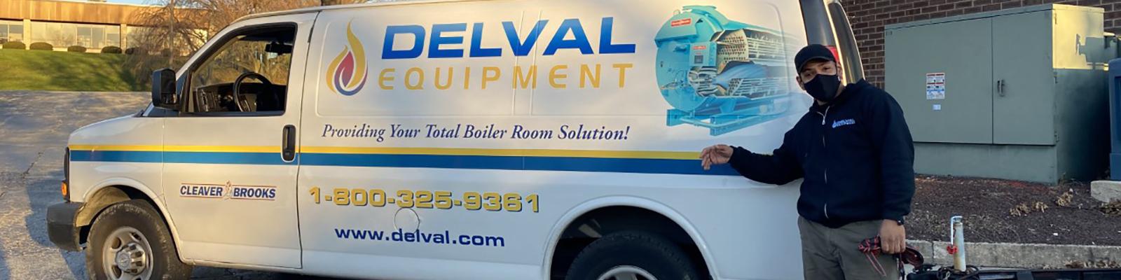 Delval Boiler Service Vehicle
