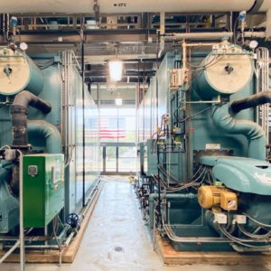Flexible Watertube Boiler Installation