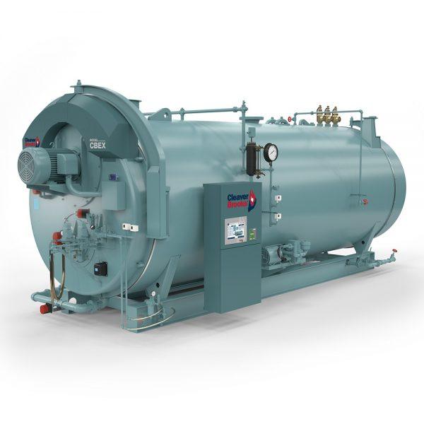 Cleaver-Brooks CBEX Model Firetube Boiler
